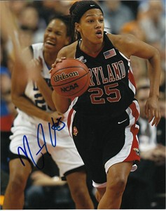 Marissa Coleman autographed Maryland Terrapins 8x10 photo
