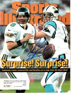 Mark Brunell autographed Jacksonville Jaguars 1997 Sports Illustrated