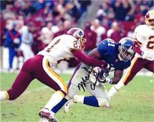 Mark Carrier autographed Washington Redskins 8x10 photo