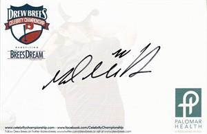 Mark Mulder autographed 4x6 signature card