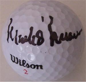 Mark O'Meara autographed golf ball