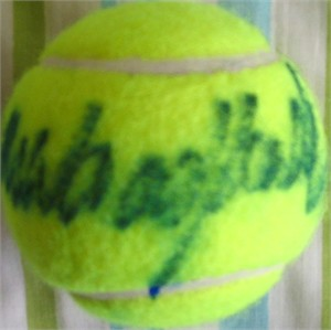 Mark Woodforde autographed tennis ball