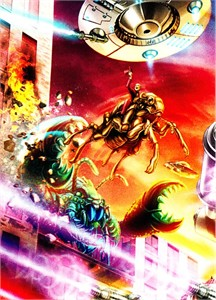 Mars Attacks 2014 Comic-Con exclusive Topps promo card