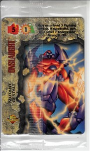 1996 Marvel Overpower Onslaught promo card #GD Mutant Gestalt