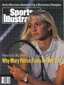 Mary Pierce autographed 1993 Sports Illustrated (rare)