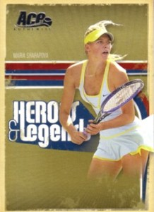 Maria Sharapova 2006 Ace Authentic card