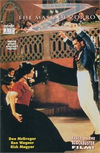 Mask of Zorro movie 1998 Image Comics comic book issue #3