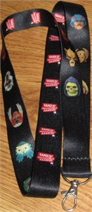 Masters of the Universe 2013 Comic-Con Mattel promo fabric lanyard