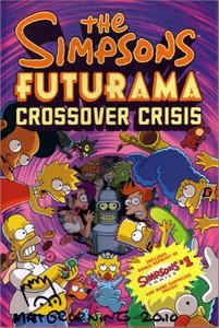 Matt Groening autographed doodled dated Simpsons Futurama Crossover Crisis hardcover comic book