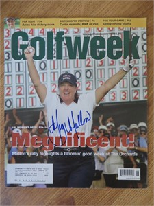 Meg Mallon autographed 2004 U.S. Women's Open Golfweek magazine