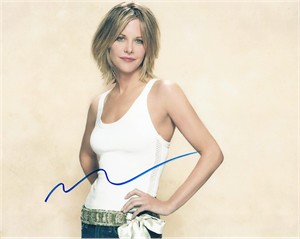 Meg Ryan autographed 8x10 photo