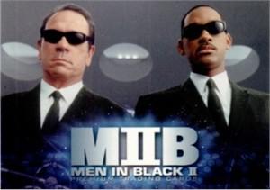Men in Black II 2002 Comic-Con Inkworks promo card P-SD