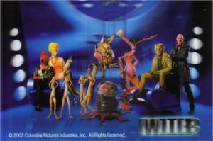 Men in Black II movie lenticular 4x6 promo card