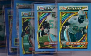 1994 Miami Dolphins Finest Refractors lot of 6 (Bryan Cox John Offerdahl)