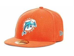 Miami Dolphins authentic New Era On Field cap or hat