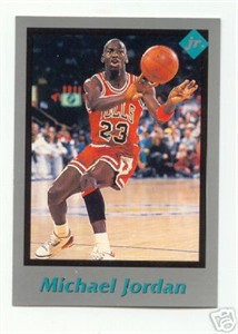 Michael Jordan Chicago Bulls 1991 Tuff Stuff Jr. card