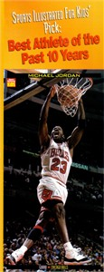 Michael Jordan 1999 Sports Illustrated for Kids jumbo card