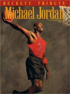 Michael Jordan 1993 Beckett Tribute basketball magazine
