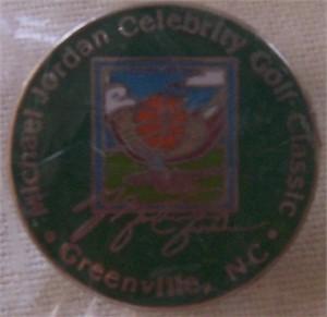 Michael Jordan Celebrity Golf Classic pin