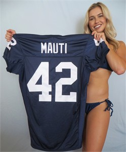 Michael Mauti authentic Nike loose cut blue Penn State stitched jersey NEW