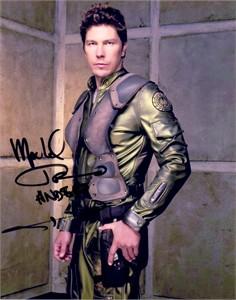 Michael Trucco autographed Battlestar Galactica 8x10 photo