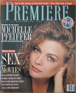 Michelle Pfeiffer September 1988 Premiere magazine (no subscription label)