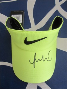 Michelle Wie autographed Nike golf white visor