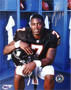 Michael Vick autographed Atlanta Falcons 8x10 photo
