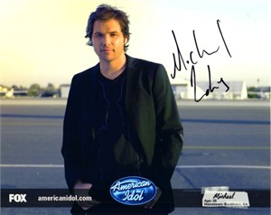 Michael Johns autographed 2008 American Idol 8x10 photo