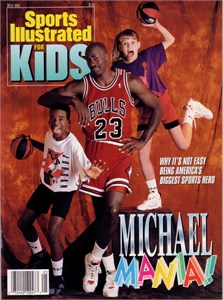 Michael Jordan Chicago Bulls May 1992 Sports Illustrated for Kids NO LABEL MINT