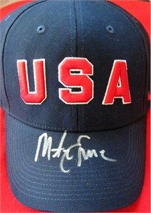 Mike Eruzione autographed USA Olympic Team Nike cap or hat