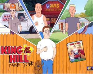 Mike Judge autographed King of the Hill 8x10 photo