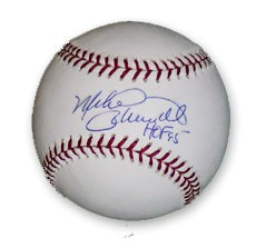 Mike Schmidt autographed MLB baseball inscribed HOF 95