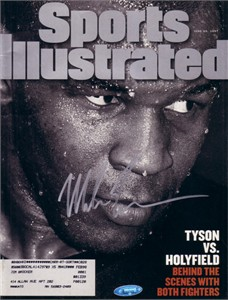 Mike Tyson autographed 1997 Sports Illustrated (TriStar)