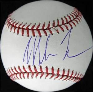 Mike Tyson autographed Rawlings MLB baseball (JSA)