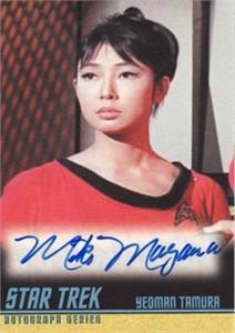 Miko Mayama Star Trek certified autograph card
