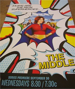 The Middle mini 11x17 promo poster (Patricia Heaton)