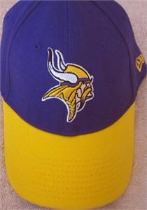Minnesota Vikings New Era purple and yellow cap or hat