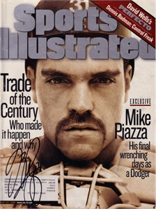 Mike Piazza autographed 1998 Sports Illustrated