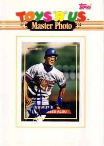 Moises Alou autographed Montreal Expos 1993 Topps 5x7 Master Photo