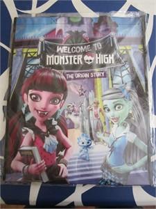 Monster High Origin Story 2016 Comic-Con Mattel promo tote bag