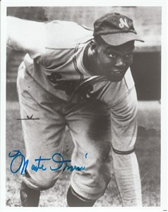 Monte Irvin autographed Newark Eagles 8x10 black & white photo