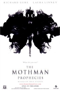 The Mothman Prophecies movie 4x6 promo card