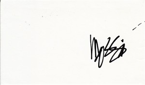Mossimo Giannulli autographed index card