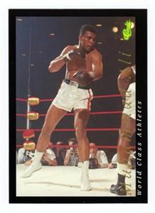 Muhammad Ali 1992 Classic World Class Athletes card