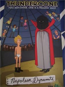 Napoleon Dynamite 2011 Comic-Con Fox promo poster MINT