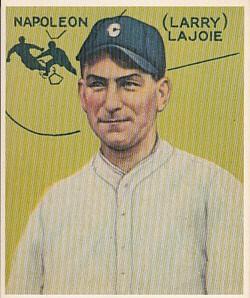 Napoleon Lajoie 1933 Goudey Gum reprint card