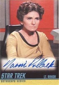 Naomi Pollack Star Trek certified autograph card