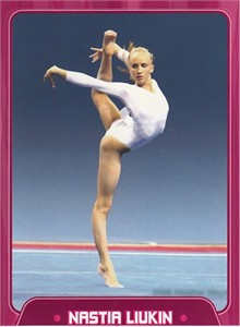 Nastia Liukin 2010 Sports Illustrated for Kids gymnastics card