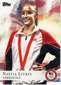 Nastia Liukin 2012 Topps U.S. Olympic Team card